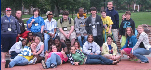 Group picture of young adults in 2013's Junior Partners in Policymaking